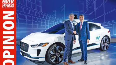 Opinion - Jaguar Waymo I-Pace