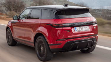 Range Rover Evoque - rear tracking