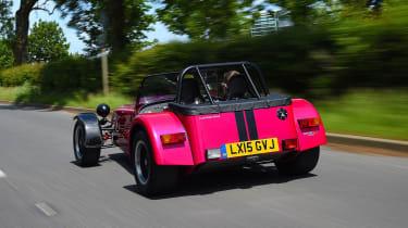 Caterham Seven 420R - rear action