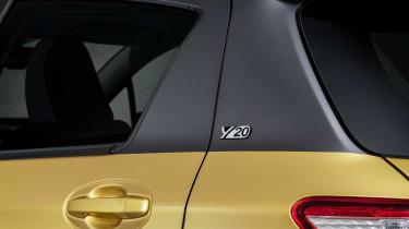 Toyota Yaris Y20 Launch Edition - badge