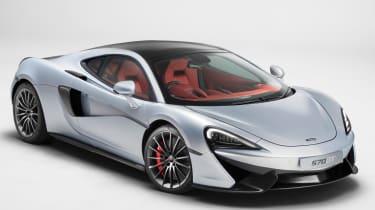 McLaren 570GT 2016 - front quarter