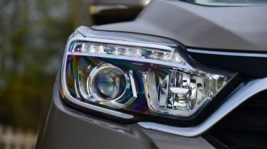 SsangYong Rexton long term - first report front light