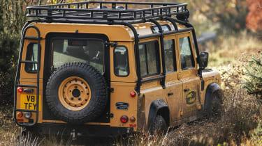 Land Rover Defender Works V8 Trophy - rear wading