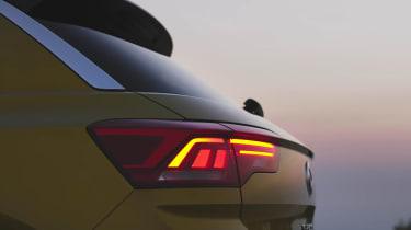 Volkswagen T-Roc teaser taillights
