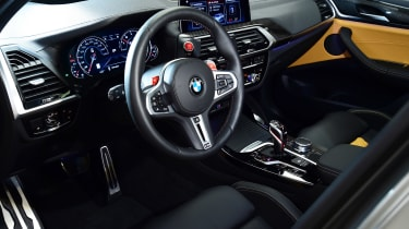 BMW X3M - cabin