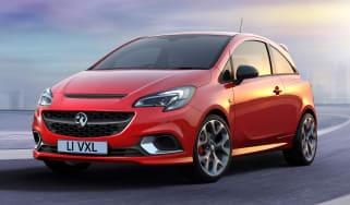 New Vauxhall Corsa GSi - front