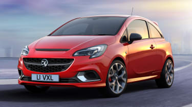 New Vauxhall Corsa GSi - front