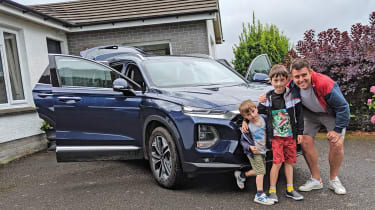 Hyundai Santa Fe - best long-term cars 2019