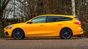 Ford Focus ST Estate: long-term test review - first report - side static