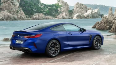 BMW M8 Competition - rear static