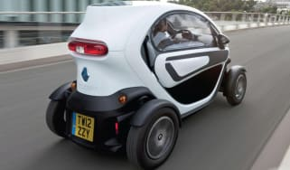 Renault Twizy windows