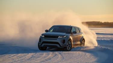Range Rover Evoque prototype - front drift