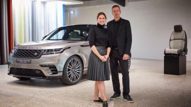 Range Rover Velar feature - header
