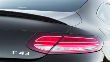New Mercedes C-Class Coupe - taillight