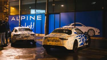 Renault alpine night shoot official