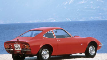 Opel GT red experimental