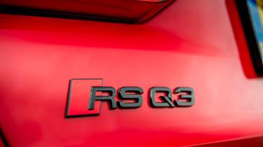 Audi RS Q3 - badge