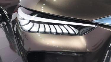 Infiniti QX50 Concept - front light detail