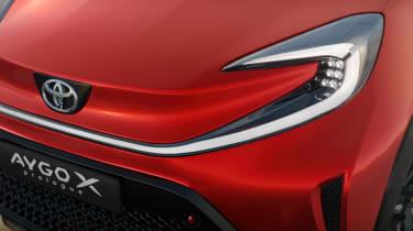 Toyota Aygo X prototype - front light