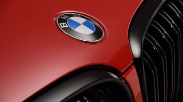 BMW X4M - BMW badge