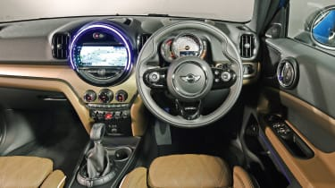 New MINI Countryman - dash