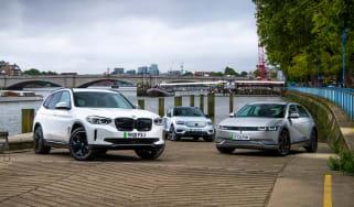BMW iX3 vs Ioniq 5 vs Volvo XC40 Recharge