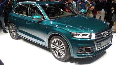 Audi Q5 - Paris front three quarter