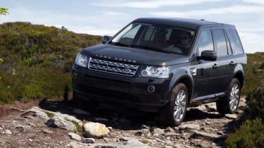 Land Rover Freelander facelift off-road