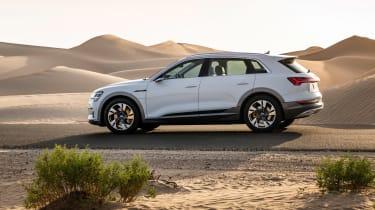 Audi e-tron side
