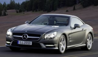 Mercedes SL500 front tracking