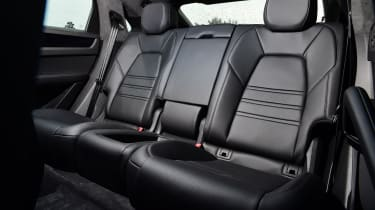 Porsche Cayenne Coupe - rear seats