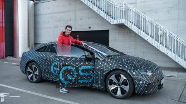 Mercedes EQS prototype - static