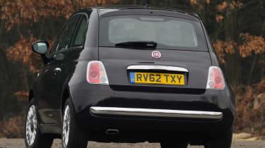 Used Car Awards 2016 - Fiat 500 rear cornering