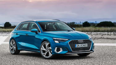 The new Audi A3 has grown in size and piled on the technology in this all-new form. Fast S3 and RS3 versions will follow.