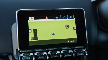 Alpine A110 Pure - navigation