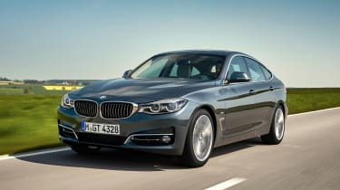 BMW 3 Series GT - front action