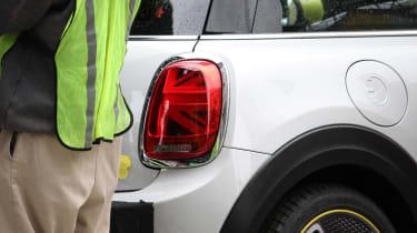 MINI electric - spy shots - rear light