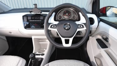 Volkswagen up! 1.0 TSI petrol - dash