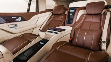 Mercedes-Maybach GLS - seat reclined
