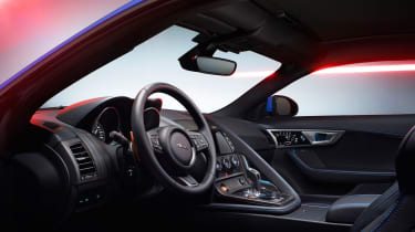 Jaguar F-Type British Design Edition -interior