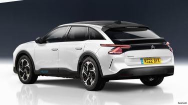 2021 Citroen flagship - rear exclusive image