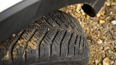 Fiat Panda Cross - tyre