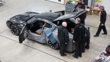 David Brown Automotive Speedback doors open