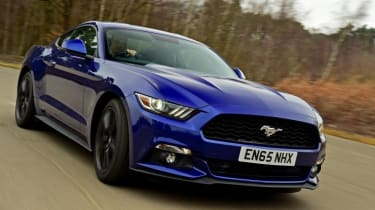 Used Ford Mustang - front action