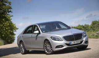 Mercedes S-Class front