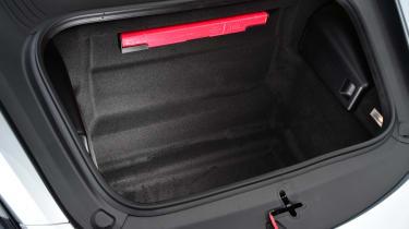 New Porsche 718 Boxster 2016 - front boot