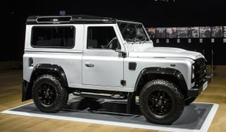 Expensive Land Rover Defender