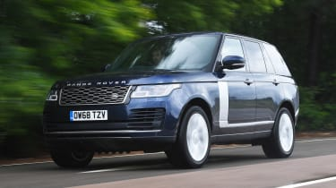 Range Rover - front