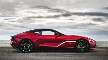 Aston Martin DBS GT Zagato - side