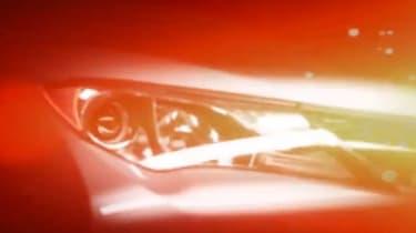 Toyota RAV4 teaser headlight